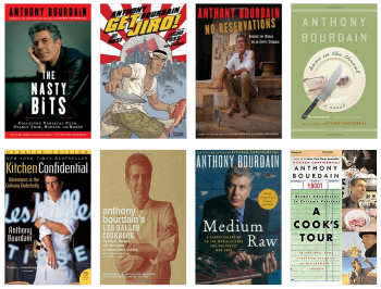 Books by Anthony Bourdain